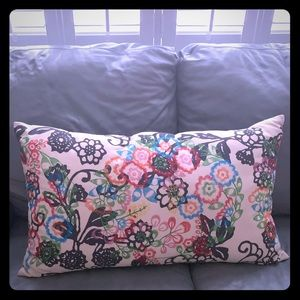 Beautiful Anthropologie colorful pillow